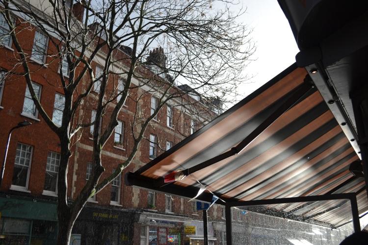 Rain Marchmont Street