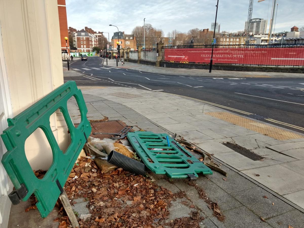 Abandoned Highways Equipment, Calthorpe Street, Bloomsbury, Camden