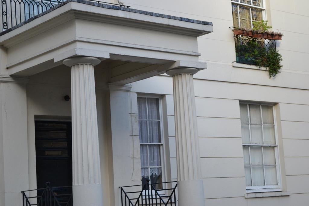 A Doric Portico, Burton Street
