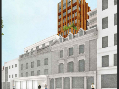 330 Gray's Inn Road, proposed orange hotel building