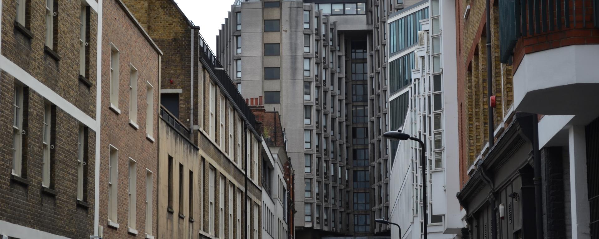 Morwell Street in Bloomsbury, London