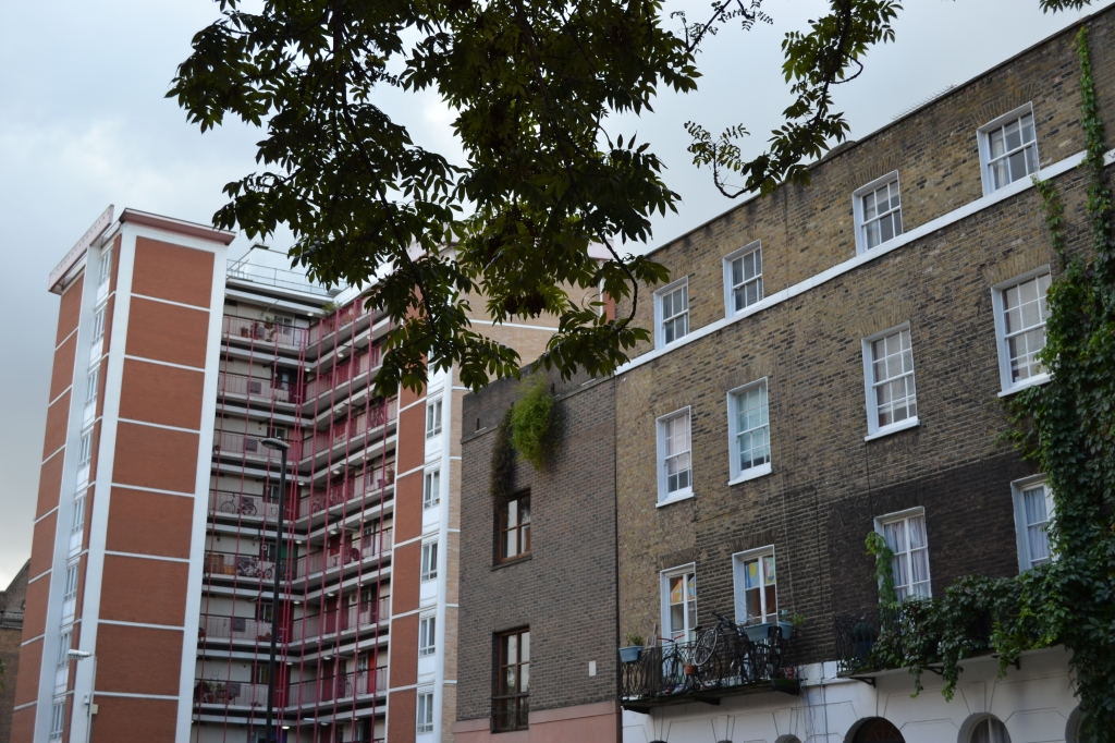 Medway Court from Judd Street, Bloomsbury