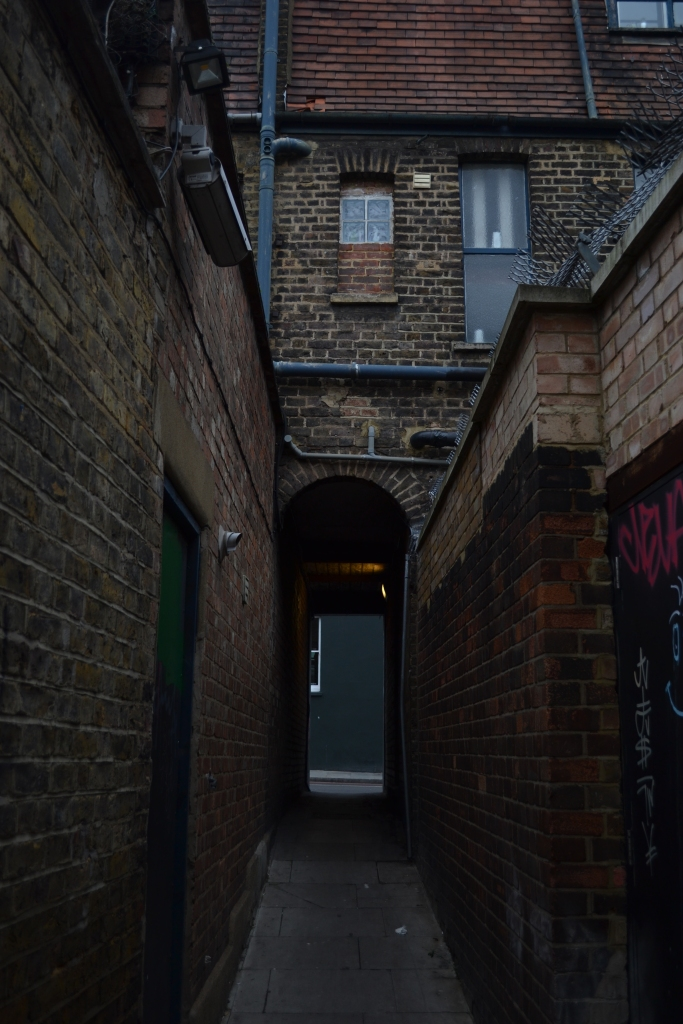A small alley in St Chad's Place, King's Cross